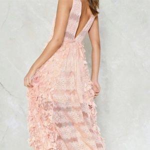 Dainty Paris Coming Up Roses Midi Dress